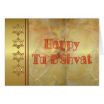 Happy Tu B'Shvat Tu bishvat Jewish holiday Jewish Greeting Card