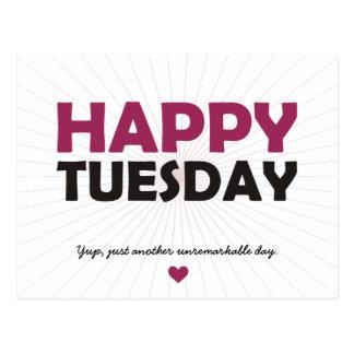 Happy Tuesday Postcard