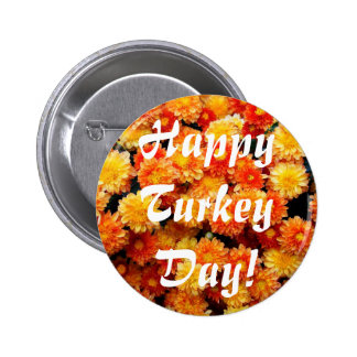 Happy Turkey Day Buttons
