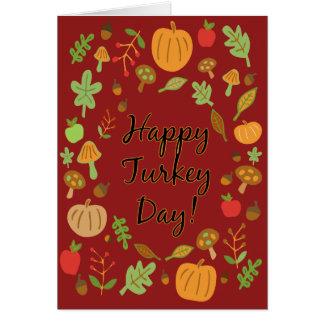 Happy Turkey Day! Card