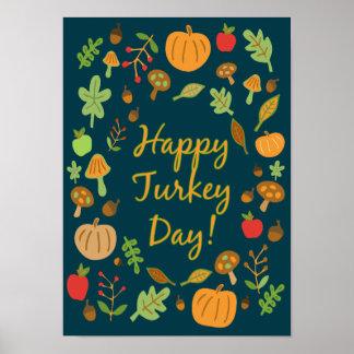 Happy Turkey Day! Poster