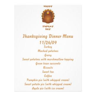 Happy Turkey day Thanksgiving Flyers