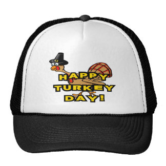 Happy Turkey Day Thanksgiving Hat