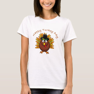 Happy Turkey Day Thanksgiving T Shirt