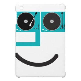 Happy Turntable Face iPad Mini Covers