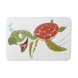 Happy Turtle Bath Mat