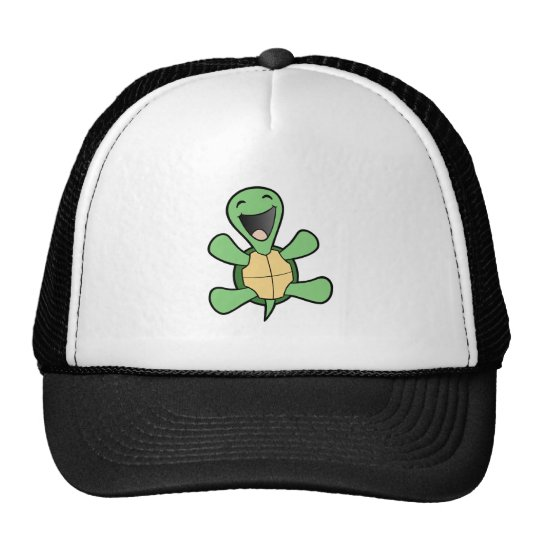 Happy Turtle Cap
