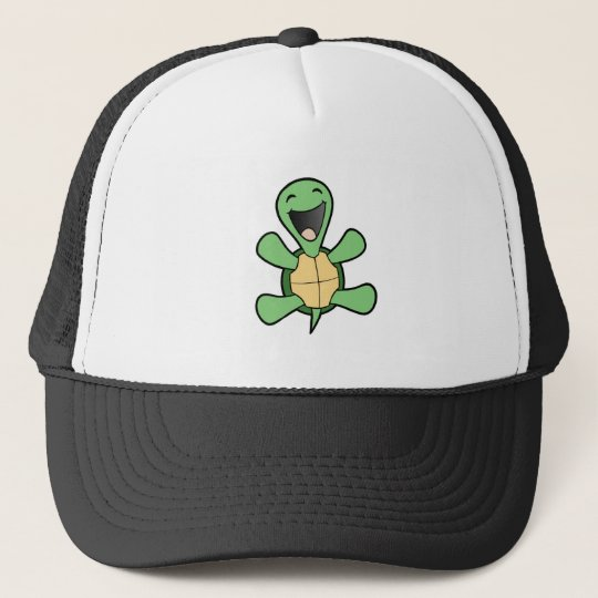 Happy Turtle Trucker Hat