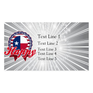 Happy, TX Business Card
