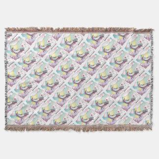 Happy Unicorn - happy unicorn Throw Blanket