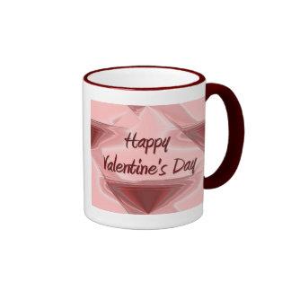 Happy Valentine's Day Ringer Mug