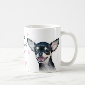 Happy Valentine s Day Chihuahua Mug