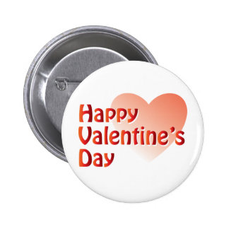 Happy Valentine s Day Heart Buttons