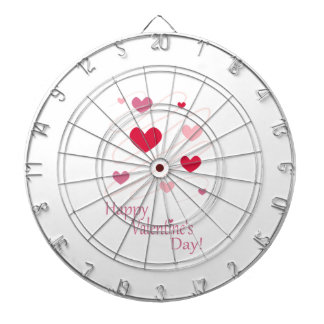 Happy Valentine s Day Hearts Dartboard
