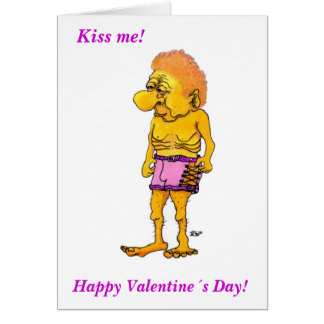 Happy Valentine´s Day! Kiss ME! Greeting Card