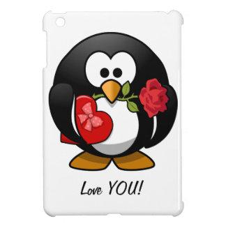 Happy Valentine s Day Penguin Cover For The iPad Mini