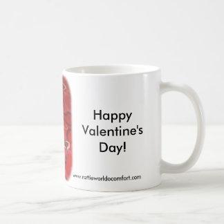Happy Valentine s Day Rattie Mugs