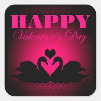Happy Valentine's Day Square Sticker