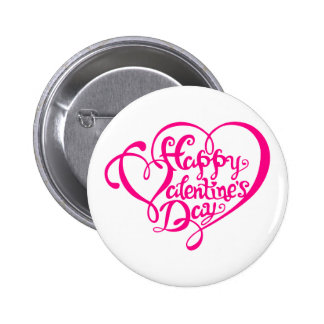 Happy Valentine s day with pink hearts word art Pins