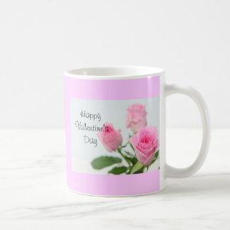 Happy Valentine's Day コーヒーマグカップ