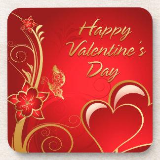 Happy Valentine's Day 3 Coaster