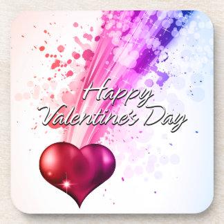 Happy Valentine's Day 6 Coaster