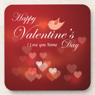 Happy Valentine's Day 7 Coaster
