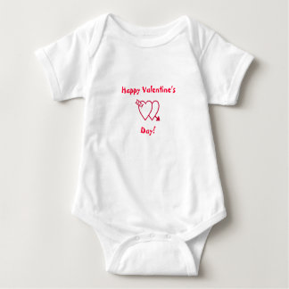 Happy Valentine's Day!-Baby Tshirts