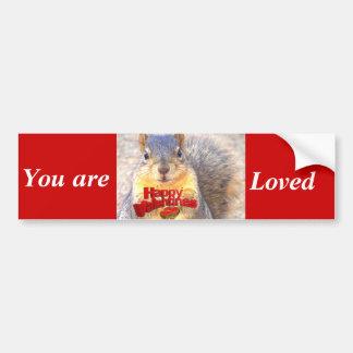 Happy Valentines Day_ Bumper Sticker