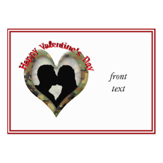 Happy Valentine's Day Business Card Templates