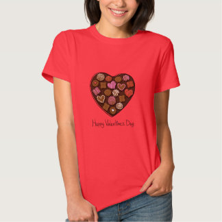 Happy Valentine's Day Candy Heart T-shirt