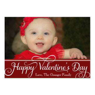 Happy Valentine's Day Card 13 Cm X 18 Cm Invitation Card