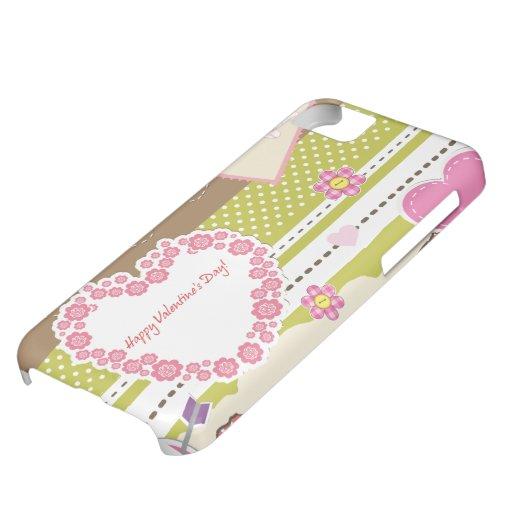 Happy Valentine's Day iPhone 5C Covers