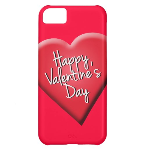 Happy Valentine's Day Cover For iPhone 5C