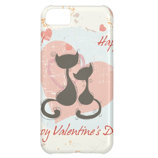 Happy Valentine's Day iPhone 5C Cover