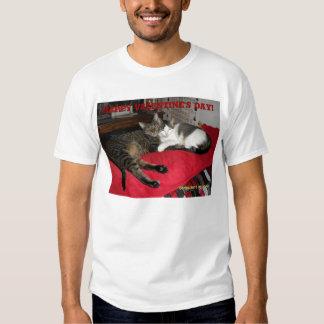 Happy Valentine's Day cats Shirt