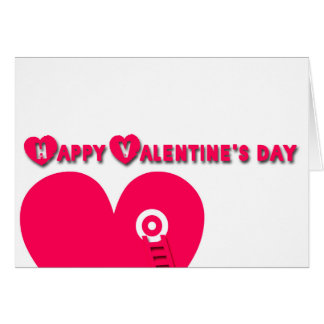 Happy Valentine's Day Compose your Secret message Card