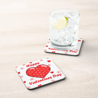 Happy Valentines Day Coaster