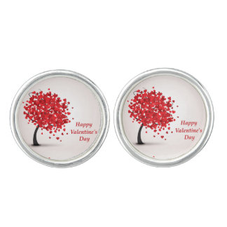 Happy Valentine's Day Cufflinks