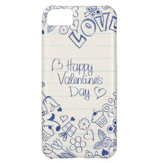 Happy Valentine's Day doodles! iPhone 5C Case