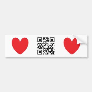 Happy Valentine's Day - English Car Bumper Sticker