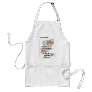 Happy Valentine's Day Excellent Wife Standard Apron