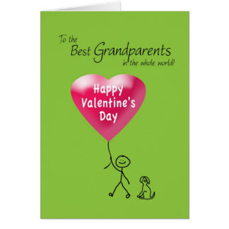 Happy Valentine's Day for Grandparents Card