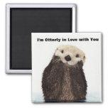 Happy Valentines Day Funny Otter