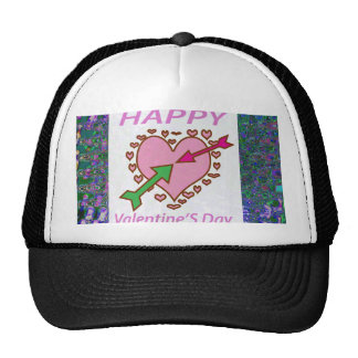 HAPPY  Valentine's Day Gifts Love Romance Teens 99 Trucker Hat