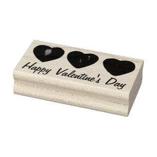 Happy Valentine's Day Heart Hearts Stamp