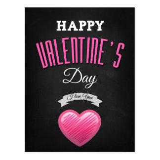 Happy valentine's day - I Love You Postcard