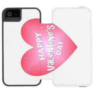 Happy Valentine's day Incipio Watson™ iPhone 5 Wallet Case