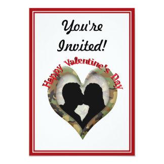 "Happy Valentine's Day 5"" X 7"" Invitation Card"