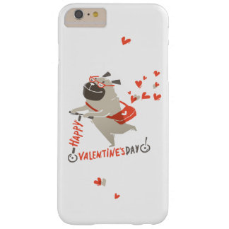 Happy Valentine's Day iPhone 6 Case With Pug